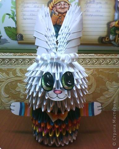 Это моё первое творение из оригами!)) фото 1