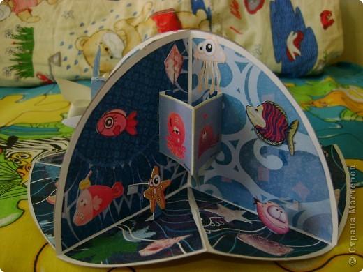 Маленькая книжечка с рыбками фото 3