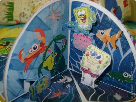 Маленькая книжечка с рыбками фото 4