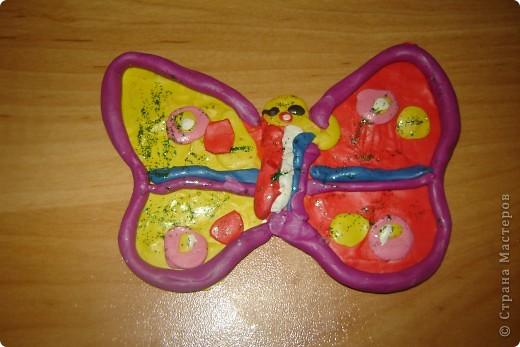 моя первая бабочка.