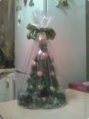 На рождество у дяди был День рожденья. Вот такая елка была уместна в дополнение к подарку. фото 2