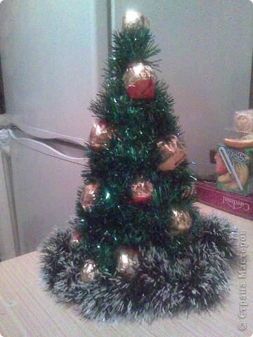 На рождество у дяди был День рожденья. Вот такая елка была уместна в дополнение к подарку. фото 1