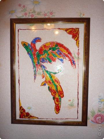 Витраж Жар-птица фото 1