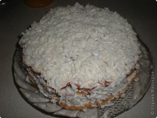 кабачковый торт фото 1