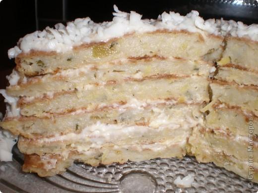 кабачковый торт фото 2