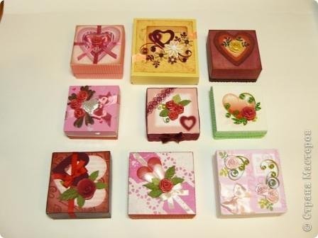 коробочки валентинки фото 1