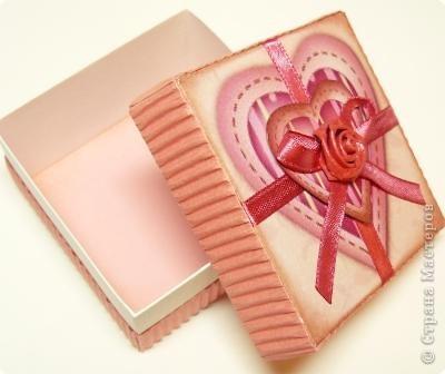 коробочки валентинки фото 6