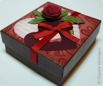 коробочки валентинки фото 18