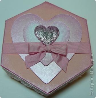 коробочки шестигранные фото 2