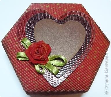 коробочки шестигранные фото 6