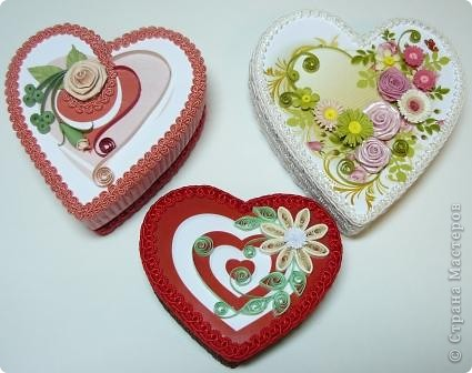 шкатулки сердечки фото 1