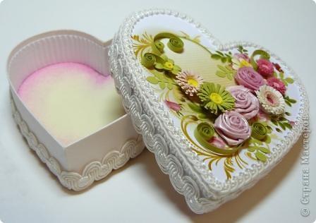 шкатулки сердечки фото 10