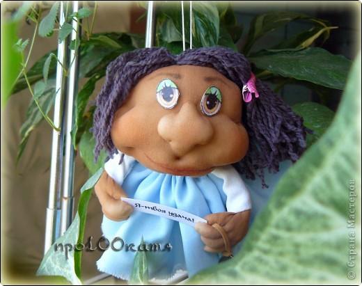 Попросили СРОЧНО сделать куклу на удачу.Терпеть не могу делать что-либо в спешке!Но отказываться не стала и вот,что получилось. фото 1
