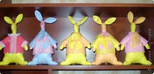 Первыми пошились эти зайцы. фото 1