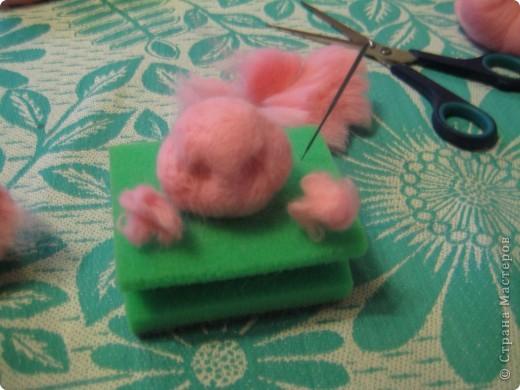 Где баобабы вышли на склон, жил на поляне розовый слон...  + МК фото 17