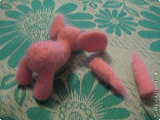 Где баобабы вышли на склон, жил на поляне розовый слон...  + МК фото 35