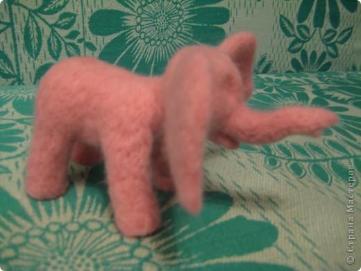 Где баобабы вышли на склон, жил на поляне розовый слон...  + МК фото 37