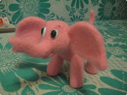 Где баобабы вышли на склон, жил на поляне розовый слон...  + МК фото 1