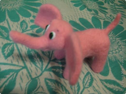 Где баобабы вышли на склон, жил на поляне розовый слон...  + МК фото 4