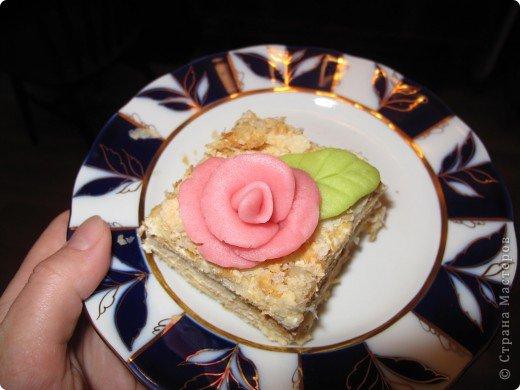 Розы из марципана фото 1