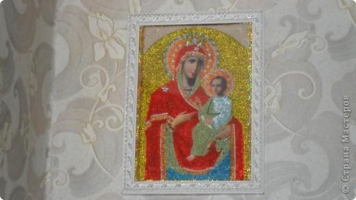 """икона """"Божьей матери"""" Неувядаемый цвет"""" фото 2"""