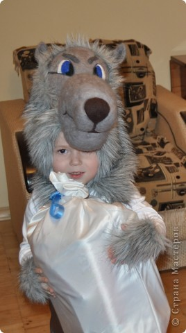 Добрый серый волк!!! фото 1
