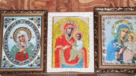 """икона """"Божьей матери"""" Неувядаемый цвет"""" фото 4"""