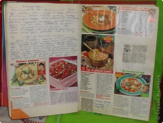 Всегда встаёт вопрос: куда девать собранные кулинарные рецепты из газет, журналов, перекидных календарей? Как хранить? фото 6
