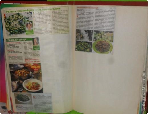 Всегда встаёт вопрос: куда девать собранные кулинарные рецепты из газет, журналов, перекидных календарей? Как хранить? фото 3