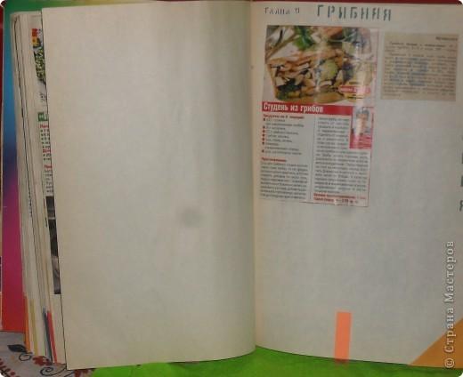 Всегда встаёт вопрос: куда девать собранные кулинарные рецепты из газет, журналов, перекидных календарей? Как хранить? фото 4