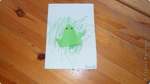 лягушку Илья сделал сам. фото 1
