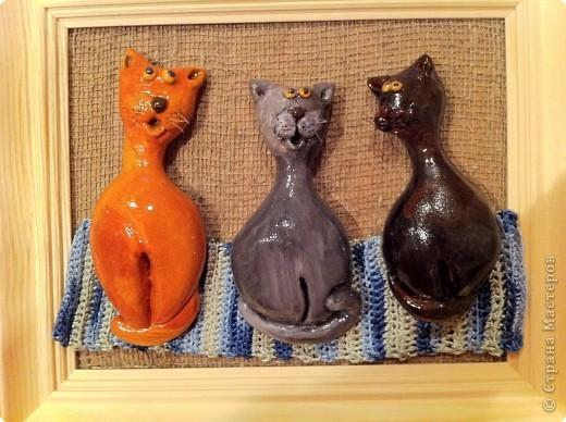 Год кота или кролика. Соленое тесто. фото 1