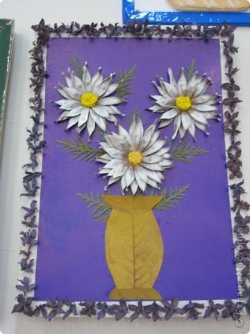 """Эти розы то же дал мне интернет. Композиции создавали сами. На краевой выставке """"Зеркало природы"""" заняли 1 место. фото 11"""
