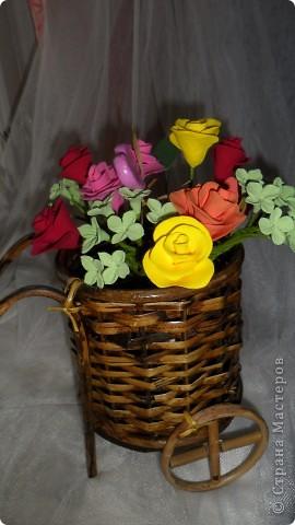 цветы из полимерной глины фото 2