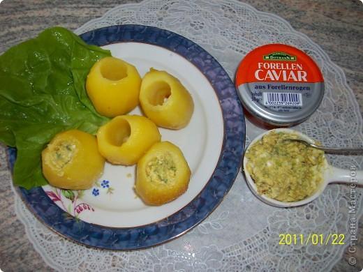 Фаршированный картофель. фото 2