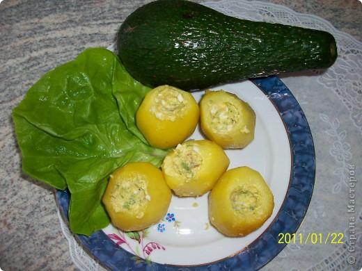 Фаршированный картофель. фото 3