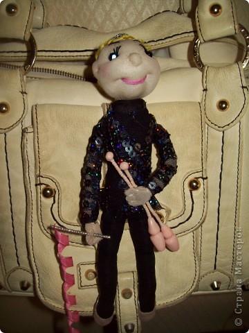 Кукла-подвеска на сумку
