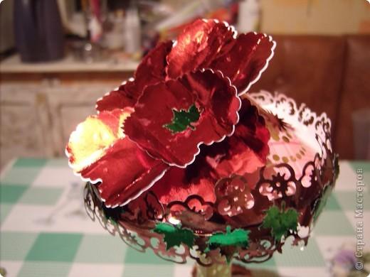 Захотелось вдруг сделать цветочную карусель.  На улице улице зима, холодно. А душа просит цветов и красоты. фото 4