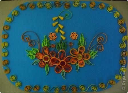 Этот огненный цветок я сделала в подарок соседке Татьяне на именины, пусть он ее согревает теплом моей души! фото 3