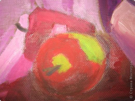 Это моя первая работа которую я рисовала масляными красками. фото 2