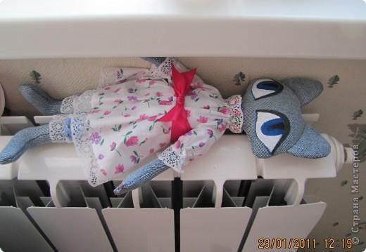 """Вот такую Мурку мы с дочкой сваяли за выходные дни.А оригинал тут: www.nkale.ru """" в каждой игрушке сердце"""". фото 8"""