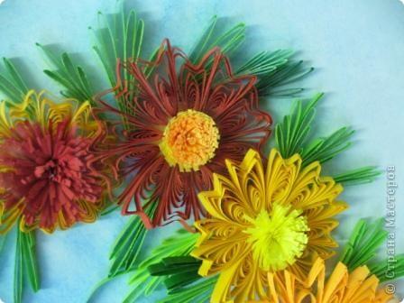 Этот огненный цветок я сделала в подарок соседке Татьяне на именины, пусть он ее согревает теплом моей души! фото 8