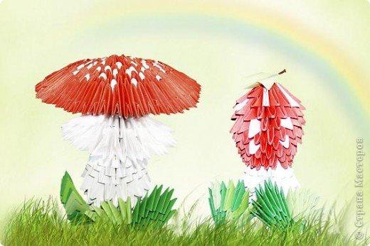 Эти мухоморчики выполнены по МК Татьяны Просняковой.Спасибо! http://stranamasterov.ru/node/94782?tid=1709 фото 1