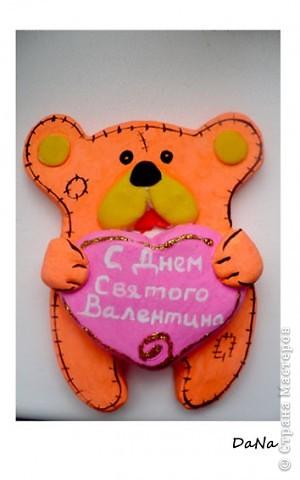 Апельсиновый мишка))) На День Святого Валентина