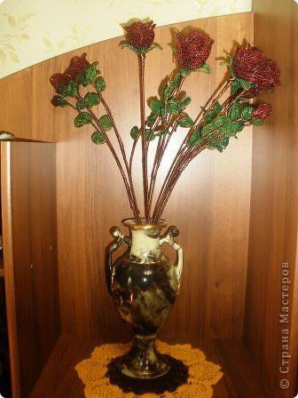 вот такие розы я сделала себе на день рождения