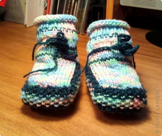 Вязание пинеток - вот моё хобби)) фото 1