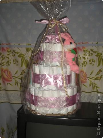 Тортик этот сделала для родившейся 10 января племянницы. фото 2