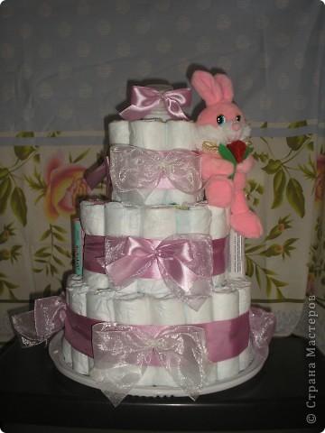 Тортик этот сделала для родившейся 10 января племянницы. фото 1