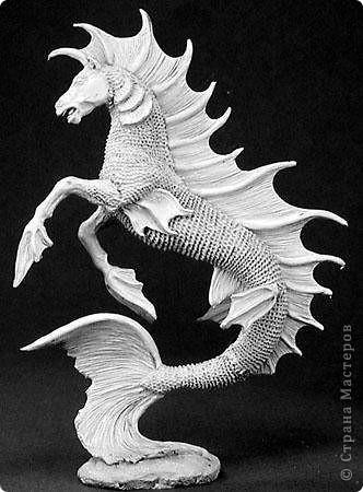 Гиппокамп – морская лошадь в греческой мифологии. фото 3