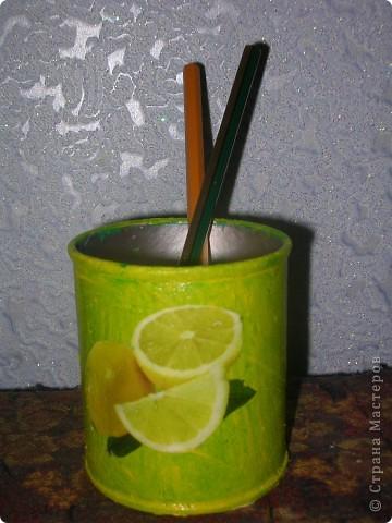 Карандашница лимонная